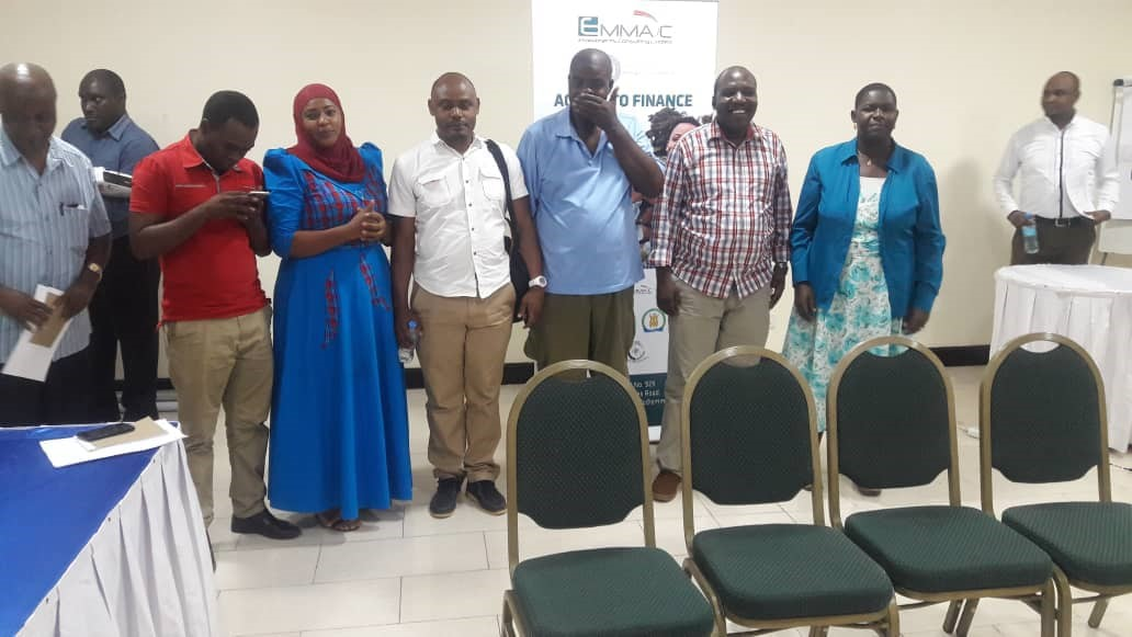 A section of EMMAC Financial Advisors (FAs) pictured after the workshop